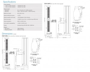 Mark-10 ESM1500LC & ESM1500FG