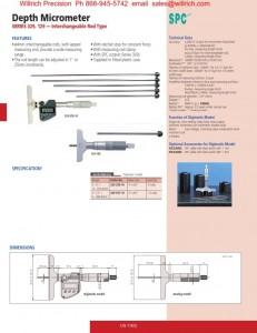 Mitutoyo 329 Digimatic Depth Micrometer_001