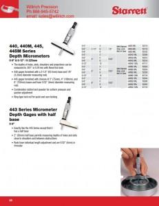 Starrett 440Z Depth Micrometer