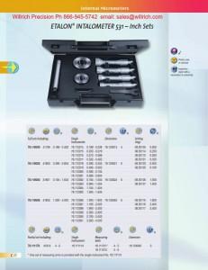 Brown & Sharpe Etalon Intalometer 531