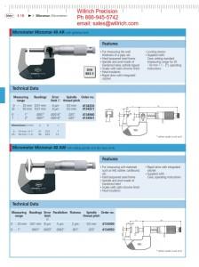 Mahr Federal 40 AW Vernier Disc Micrometer