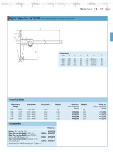 Mahr Federal MarCal Digital Large Range Caliper 18 EWR