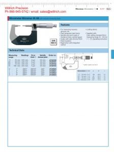 Mahr Federal 40 AB Spline Micrometer