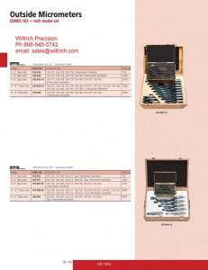 Mitutoyo Micrometer Set 103 Series