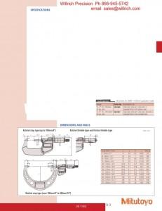 Mitutoyo Micrometer Sets Series 293