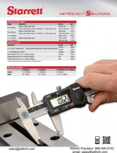Starrett 799 Series Digital Caliper