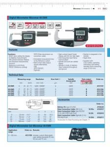 Mahr Federal 40 EWR Digital Micrometer IP65