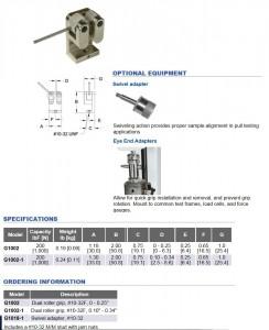 Mark 10 dual force gauge grip