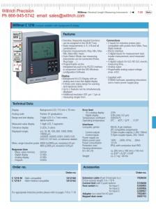 Mahr C1216 Length Measuring Instrument
