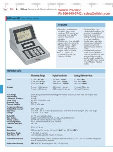 Mahr Millitron 832 Digital Electronic Amplifier