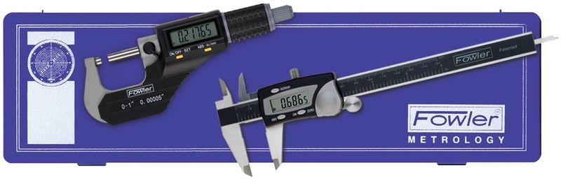 Fowler Caliper Micrometer Set