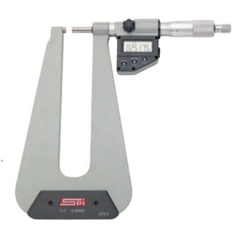 SPI Electronic Deep Throat Micrometer