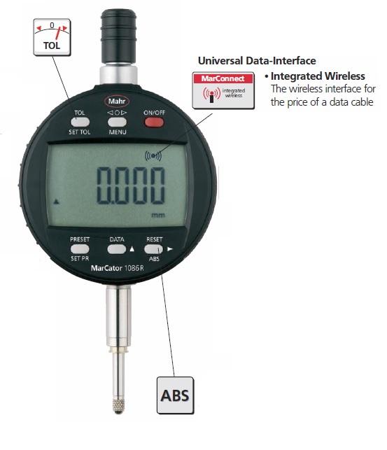 Mahr Digital Indicators : Mahr federal marcator ri wireless digital indicator