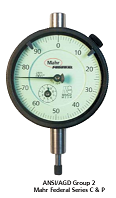 Mahr Federal C1K Dial Indicator, Range .020,
