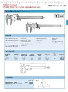 Mahr Federal Dial Caliper Model 16U