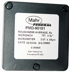 mahr federal pmd-90101 sURFACE ROUGHNESS STANDARD