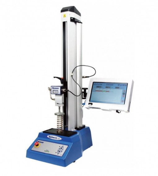 Mecmesin MultiTest-XT Series (110 to 11,000lb Capacities), Programmable touch screen console, Motorized Test Stand