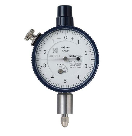 Mitutoyo Dial Indicator 1803S-10, Range .025, .0001