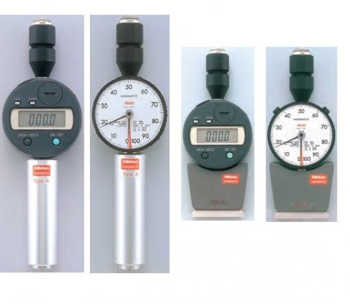 Mitutoyo Hardmatic Series 811 – Digital and Analog Durometers