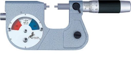Brown and Sharpe Micro-Etalon 225 Micrometer with a Dial Indicator