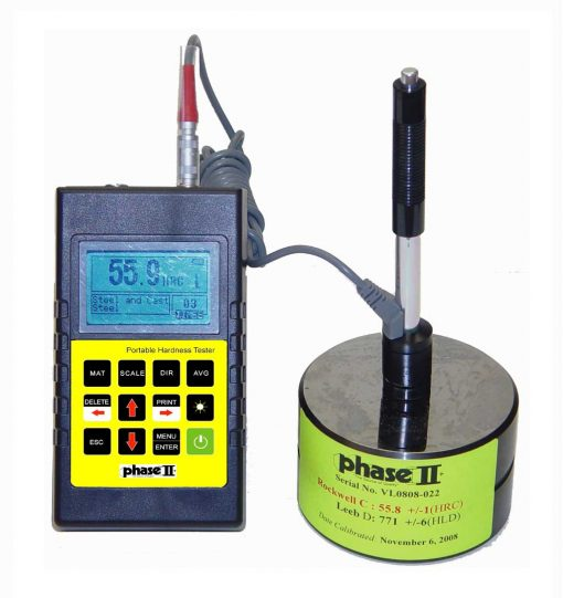 Phase II PHT-1700 Portable Hardness Tester