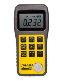 Phase II UTG-2800 Ultrasonic Thickness Gauge