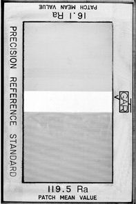 Precision Roughness Standard Double Sided