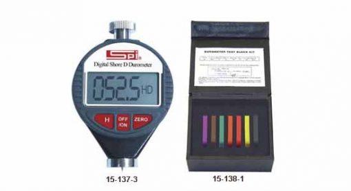SPI Digital Shore A & D Durometer