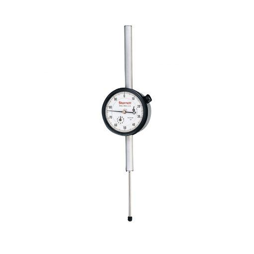 Starrett 25-2041J Dial Indicator, Range 2 inch, .001