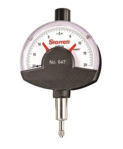 Starrett 647 and 647M Dial Comparator Indicators