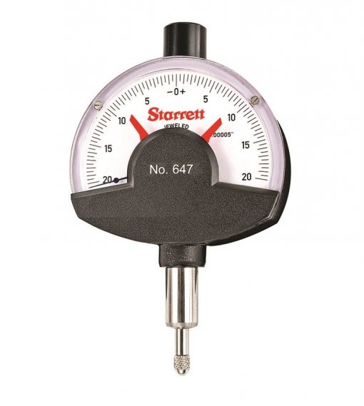 Starrett 647 and 647M Dial Comparator Indicators