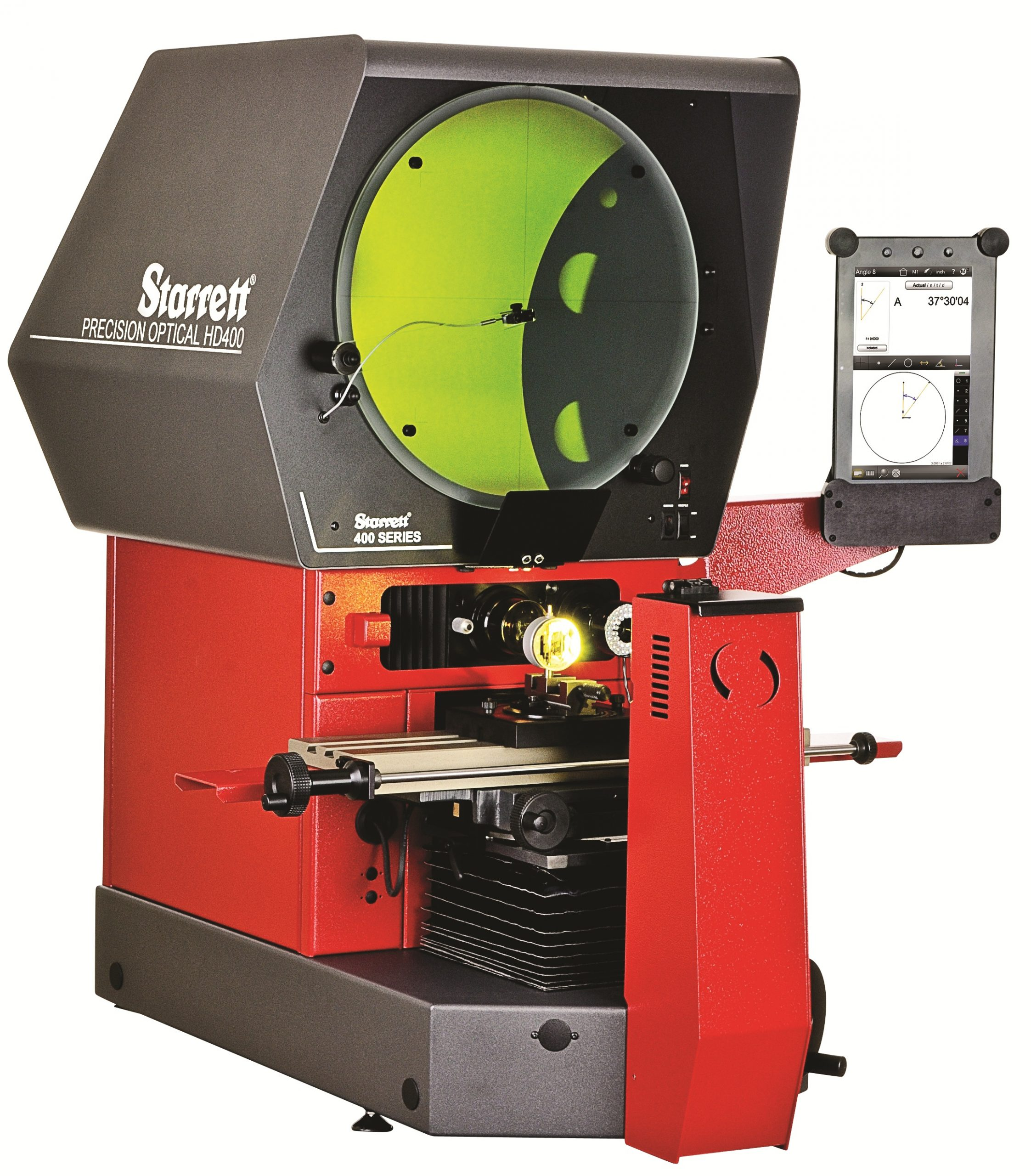 Horizontal Comparator brightest image in the industry