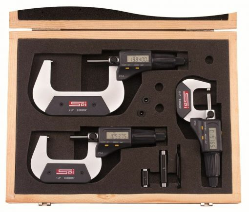 SPI Digital Micrometer Set