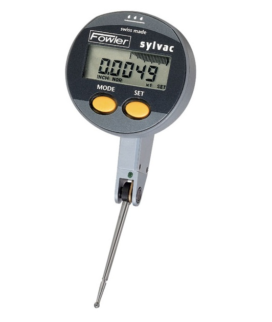 Fowler Digital Indicator : Fowler sylvac quadratest digital test indicator willrich
