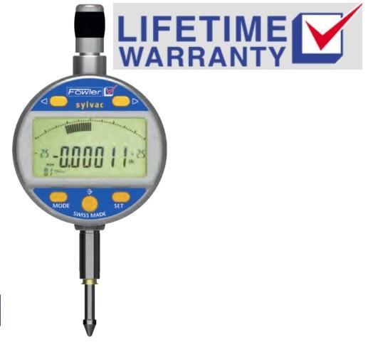 Wireless Dial Indicator : Fowler sylvac mark vi electronic indicators analog display