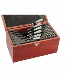 Starrett S436.1CXRLZ Outside Micrometer Set
