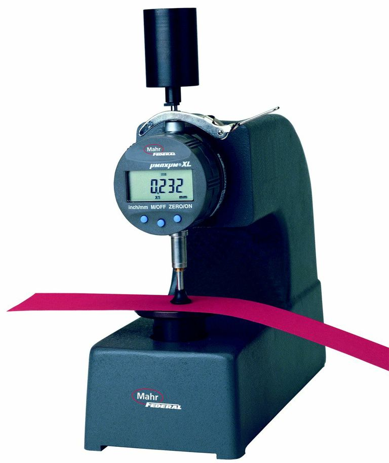Electronic Federal Gage Products : Mahr federal b dead load thickness gages willrich