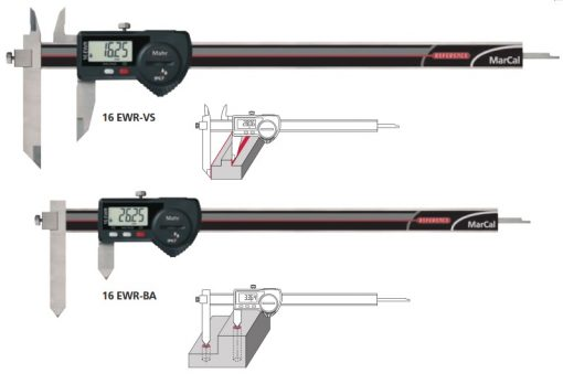 Mahr Federal Digital caliper offset
