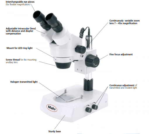 Mahr Federal SM-150 Stereo Microscope