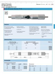 Mahr Federal Inside Micrometer Micromar 44 CB