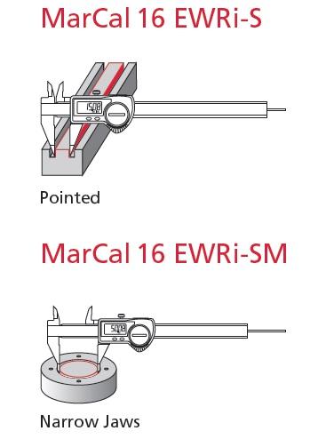 Mahr pointed caliper