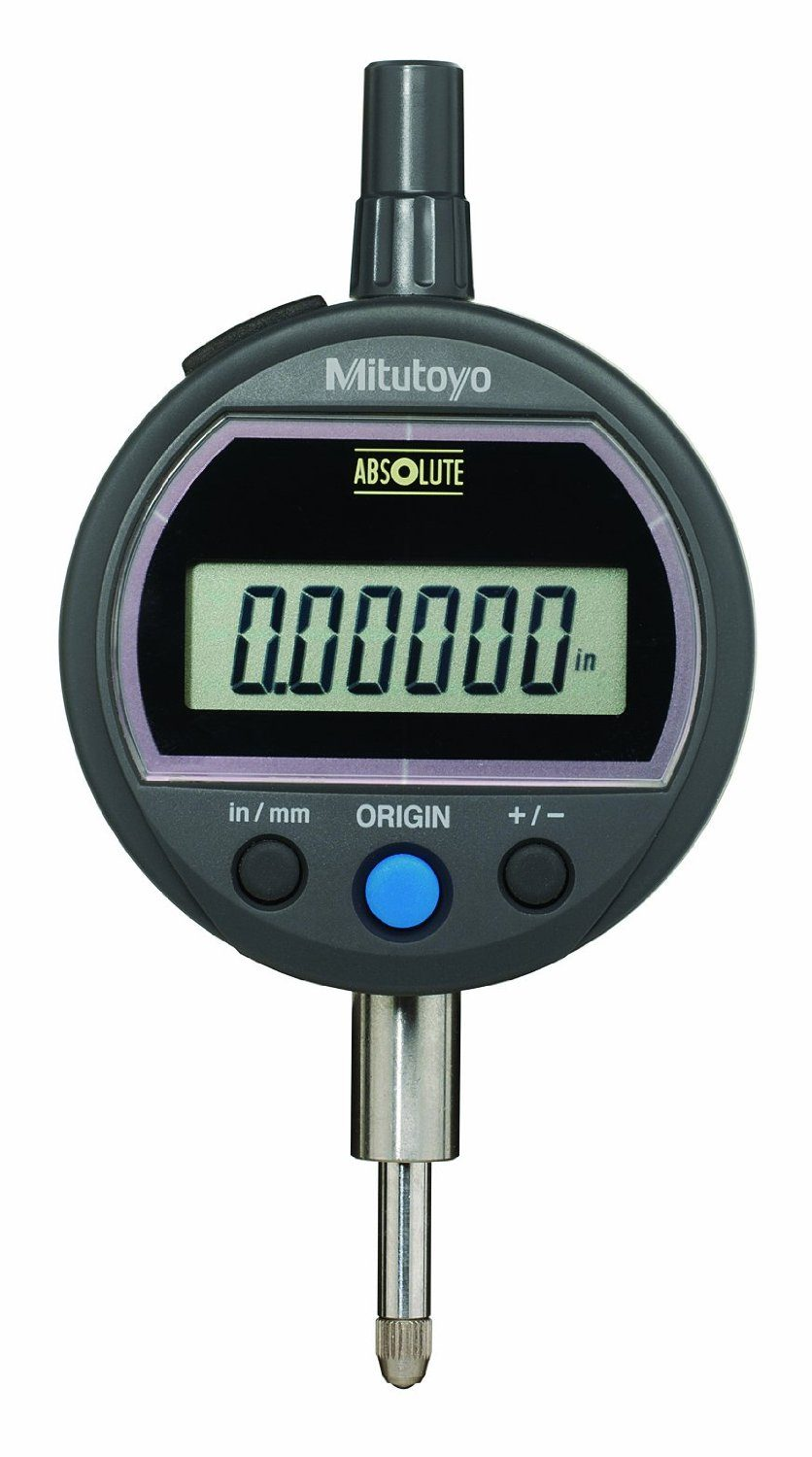 Mitutoyo Absolute Digital Indicator : Mitutoyo id ss abs solar powered digimatic indicator