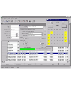 Mitutoyo Gage Inventory and Calibration Control