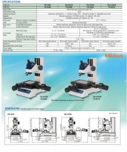 Mitutoyo TM 505-1005Toolmakers Measuring Microscope