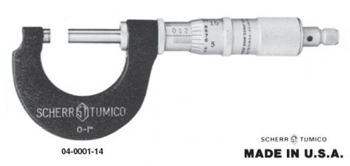 ST Industries Group 1 Tubular Frame Micrometer