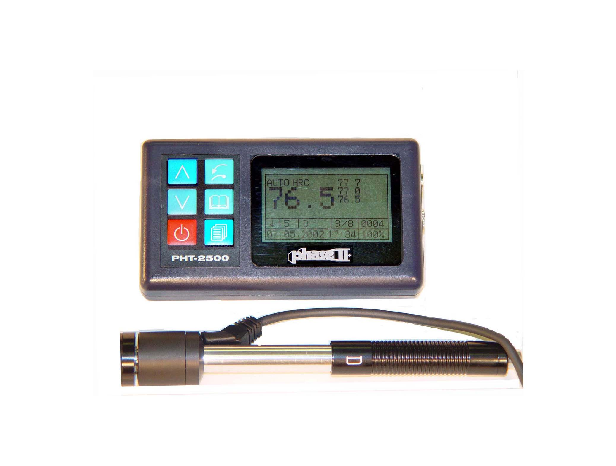 Phase II PHT-2500 Portable Hardness with D impact device - product thumbnail