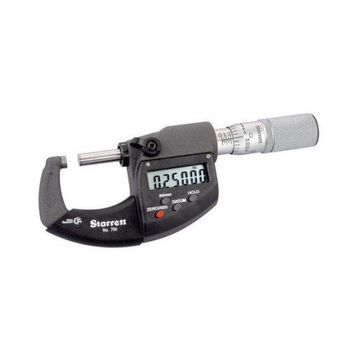 Starrett 796XFL Electronic Micrometer