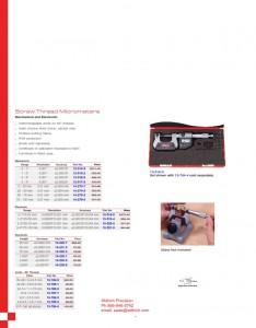 SPI Electronic Screw Thread Micrometer