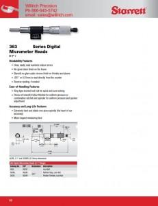 Starrett 762 Electronic Micrometer Head