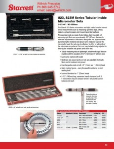 Starrett 823 Tubular Inside Micrometer